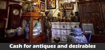 cash for unwanted old antiques