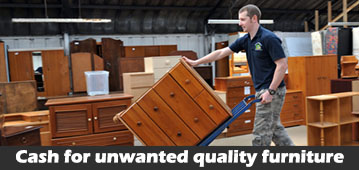 cash for unwanted used furniture