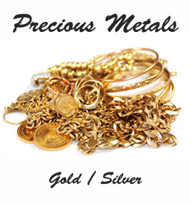 stash of gold and silver