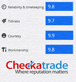 we are checkatrade approved